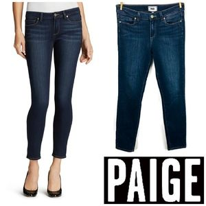 Paige Jeans Verduga Ankle Skinny Nottingham Size 2